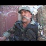 من المقاتلين الذين قابلهم الرئيس الأسد في الغوطة الشرقية منذ يومين  عمره 56 سنة ✌🇸🇾✌ https://t.co/WkDEBaUASj