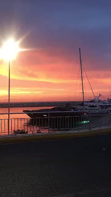 Una puesta de sol fuera de serie en Ocean World Puerto Plata |