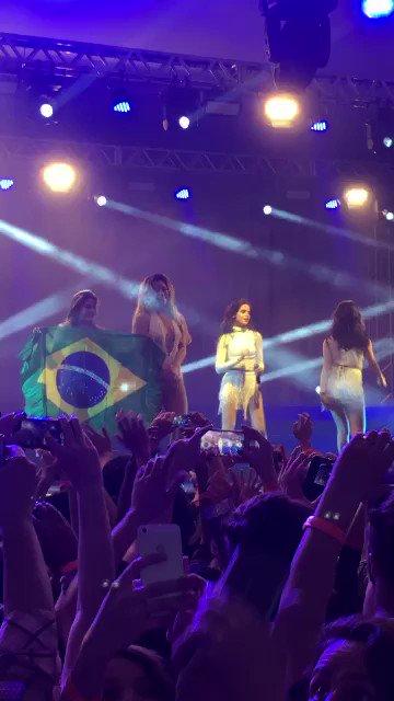 #FifthHarmony, o Brasil ama vocês!!