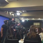 A scan of the room as Malcolm Turnbull addresses the #npc in Canberra @2GBNews #ausvotes https://t.co/c8ewFbB1MP