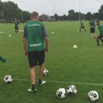 Warming up oefening met Jos Hooiveld. https://t.co/reiwe9xY0w