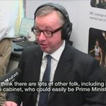 ???? Archive from 2012: Gove shuts down the suggestion of ever running for prime minister #wato https://t.co/1Vd4Yu9BKv