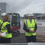 Prof Tim Elliott highlighting the importance of Cancer Immunology & burying a time capsule at the new centres site https://t.co/pyQsGGIpJX