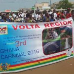 Volta Region #9 Is Here  Day1 of #GhanaCarnival2016 happening now at MANTSE AGBGONAA. . @AbeikuSantana https://t.co/XxUBthPgTu