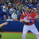 Russell Martin losing his mind on Canada Day! #BlueJays (1/2) https://t.co/wqhGNcaGxU