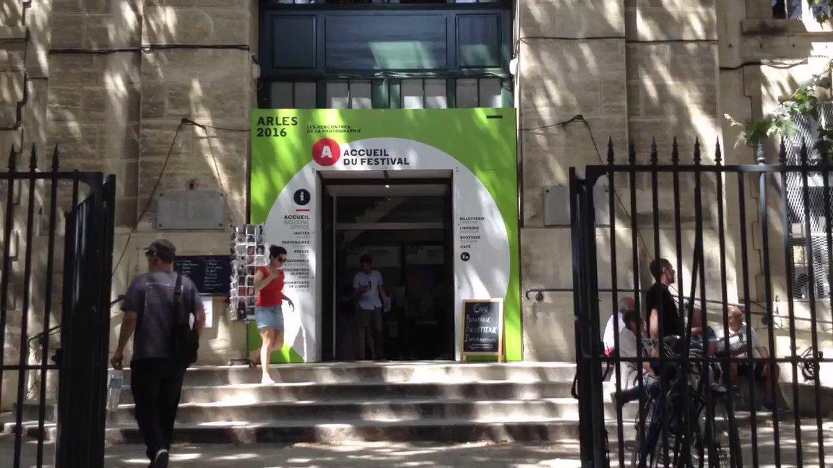 #rencontresarles2016 : c'est ouvert ! https://t.co/7ewWLgbx4P