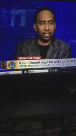 Stephen A smith always spitting
