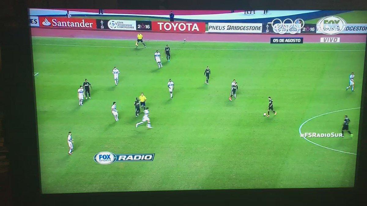 Los 18 toques de @nacionaloficial para el segundo ante @SaoPauloFC..circulación x todo el campo y gol!@FOXSportsArg https://t.co/YlZvoNcw6U