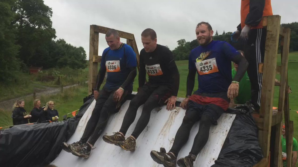 We won't lie. It's cold! #myAwesome #ToughMudder https://t.co/NONJGk4o7s