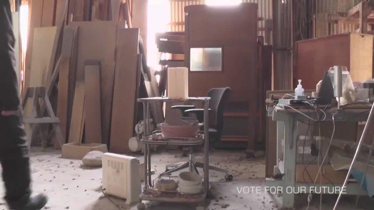 彫刻で投票よびかけ1分間動画 VOTE FOR OUR FUTURE まだ投票にいけない未来の世代のために、少しでもベターな選択を。 【MANOWORKS】#参院選 #選挙に行こう https://t.co/nlafGUMeOI