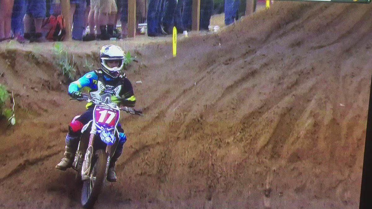 "@shanemcelrath_ leaving it all on the track ""literally"" I hope your ok stud #Southwick #SouthwickMX #ThisIsMoto https://t.co/u03oEZwqU6"
