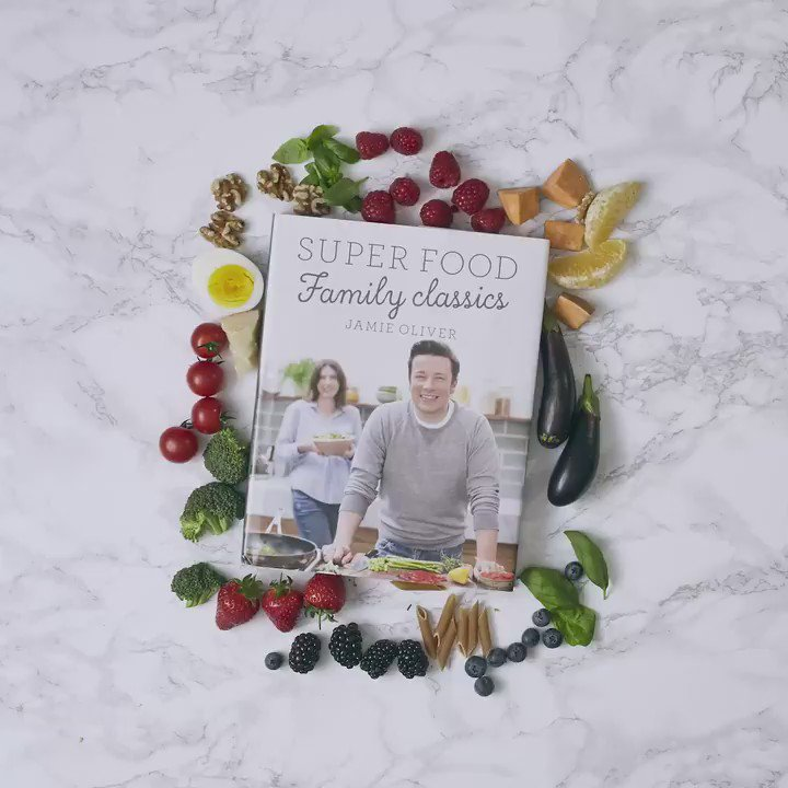 RT @TheHappyFoodie: ????! @jamieoliver's Super Food Family Classics is out today - packed with all the good stuff! https://t.co/ah38TaRap4 htt…