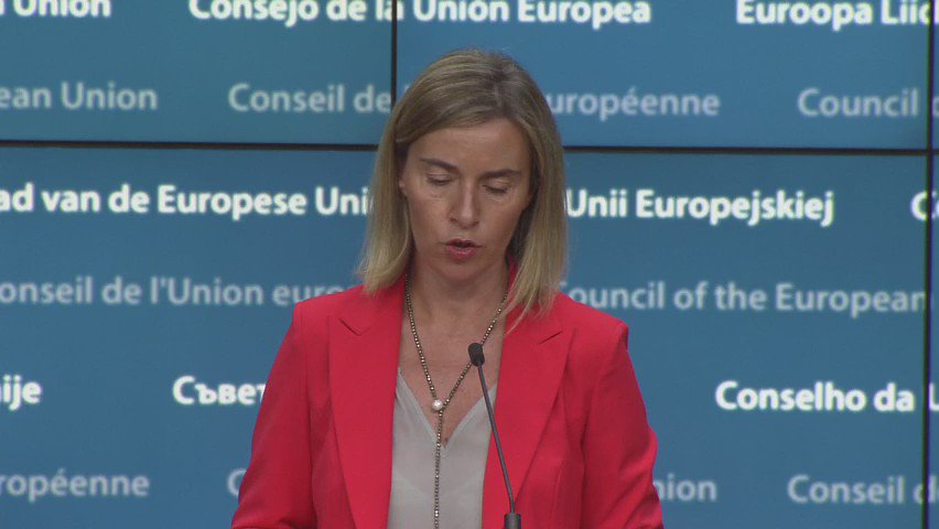 "#Turkey - ""No country can become member of the EU if it introduces the death penalty"" @FedericaMog https://t.co/1L4ZZok8az"