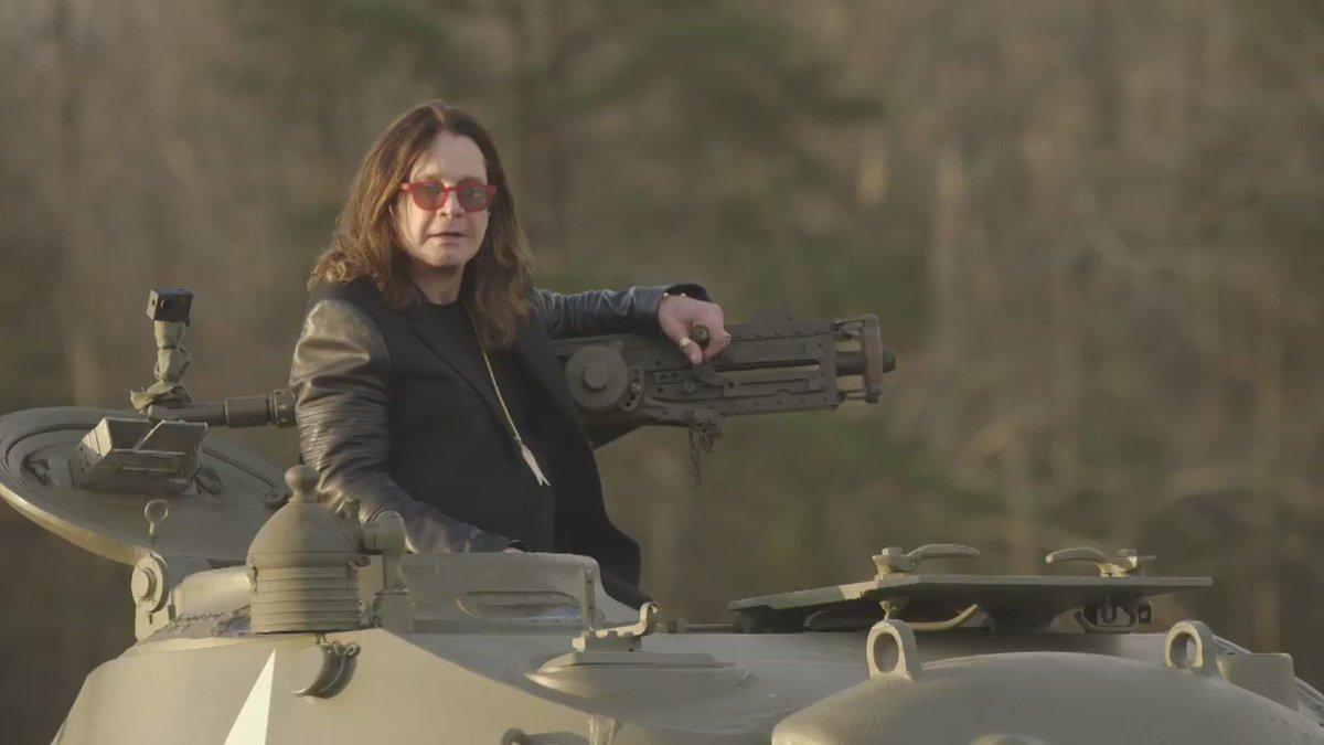 Who doesn't love a WW2 Chaffy Tank? #OzzyAndJack @OzWorldDetour Season Premier This Sunday on @HISTORY! https://t.co/occhdHq0s1