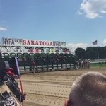 AND THEYRE OFF AT SARATOGA! https://t.co/bfO8dVhnN5