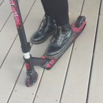 a horrible scooter accident @RenaLovelis https://t.co/LJEksElcUa