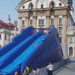 Splish splash Ljubljana! 🌞🌊 #ljzate #primatobogan #rightnow #visitljubljana @PivovarnaUnion @visitljubljana https://t.co/iohk6RpJOe