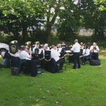 The best of #Barnsley brass: @WorsbroughBrass treat Darfield Community Gala with A Whiter Shade of Pale. https://t.co/W9kr2G6bPF