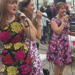 The Leading Ladies performing at @StGeorgesBT1 today #StGeorgesMarket https://t.co/0SgaIXvd8g https://t.co/Yh0MWgKPvx
