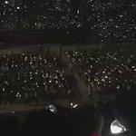 "Fans are chanting ""Kim Namjoon we love you"" 😭💓 im sobbing TT TT Good job armys 😭 #getwellnamjoon Cr: BTS-笑 https://t.co/BORDcWLXWS"