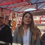 9:30 HORAS | La int. @ClauRojasCampos revisó esta mañana la instalación de los cabildos. #UnaConstitucionParaChile https://t.co/ZDQWDi7cfS