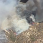 Wildfire burning near Los Angeles grows to 11,000 acres, 10% contained. 📷: @LACoFireAirOps https://t.co/QT7w0yu7M4 https://t.co/T6ZdnW0trF