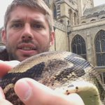 This is Merlin - hes a snake and one of the many creatures heading to @stedscath this summer! https://t.co/nz0czp1rHZ