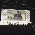 Ben Affleck may be nerding out just a little bit in Hall H. #SDCC #WarnerBros https://t.co/DcJGBCW5qe