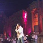 """#سعد_المجرد وأغنيته المشهورة """"انت معلم"""" #مهرجان_جرش https://t.co/wUpqe09PYR"""