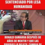 """EL BRUTO @ronaldgamarra después d años de mentir reconoce q """"Alberto Fujimori no fue sentenciado por Lesa Humanidad"""" https://t.co/JNoydTQ037"""