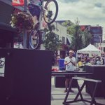 #CaribbeanDays @uptownlive_nw & @fusionfest #tunein @NEWS1130 #Vancouver loving #Beshano #BikeTrials #UptownLive https://t.co/6yLno5Vscg
