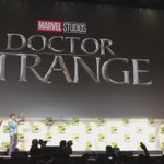 And the cast of #DoctorStrange takes the stage! #MarvelSDCC https://t.co/3DEm5HdOJG