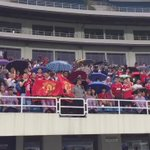 Chinese #MUFC fans with a lovely rendition of F*** off City https://t.co/zsrzn3ktKh
