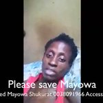 Oh! LORD..Im weeping😭😭 Pls🙏 Nigerians lets save Mayowa Ahmed. She mustnt die like this, she has been thru a lot 👇 https://t.co/RF8MyNFue3
