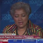 """#DNC Vice Chair Donna Brazile on #wikileaks emails controversy. """"The stupidity needs to be addressed."""" https://t.co/P0kxkmJXaU"""