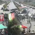 CCTV Footage Captures Deadly #KabulBlast. #Kabul #Afghanistan  @TOLOnews https://t.co/pGHtQrpg1D