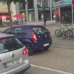 #BREAKING: video of the 21yo Syrian refugee attacking people in #Reutlingen #Germany - @70219 https://t.co/4ch1R5FWMH