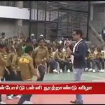 #Vikram dances for #Maari @directormbalaji @anirudhofficial @dhanushkraja https://t.co/X9SxtZKBG0
