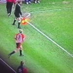 Ah, the old hit teammate in testicles with clearance tactic.  #TwitterBlades #STFC #SUFC #crap90sfootball https://t.co/WiR75o6K14
