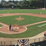 First pitch and we are underway. @WooBaseball vs @PittsfieldSuns #WooBall https://t.co/Lp25hnhpP2