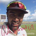 Heres a message from @ashwinravi99 after his century and seven-wicket haul in the Antigua Test. #WIvIND https://t.co/BQIncUHuzY