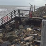 West Beach closed due to severe storm damage. Theres no beach left. #9News #Adelaide https://t.co/4N9BE8n1TM