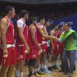 @miguelmarquezm saluda a la selección mexicana de voleibol previo al partido estelar #RumboARio https://t.co/QkDYx1CT3u