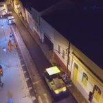 Recapeamento asfáltico noite adentro no Centro Histórico de São Luís. Gov. @FlavioDino em ação! https://t.co/2PGJ5R4vLv