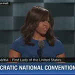 """.@FLOTUS: Today, I wake up """"in a house that was built by slaves"""" #DemsInPhilly https://t.co/QxQPWgF0oH"""