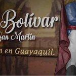 #VIDEO Bolívar y San Martín dos Gigantes que se unieron -en 1822, en Guayaquil- por la Libertad de la Patria Grande https://t.co/HaPo37B8xA