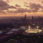 They dont call us the #SportingCapital for nothing. #ICCMelb https://t.co/fWBFKV6YzF
