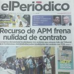 CLIP DE PRENSA: EL PERIÓDICO https://t.co/CvrxRY0aXk
