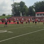 Harrison playing host to Princeton this morning in scrimmage.@14News @14SportsTeam https://t.co/jOOtrDn9Tp