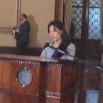 Las primeras palabras de la Lucrecia Hernández, como nueva ministra @soy_502 @hernandezmack https://t.co/pEb5pV7s4x